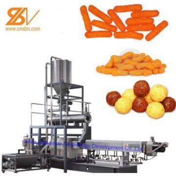 Puffed Corn Snacks Processing Machines/Extruder