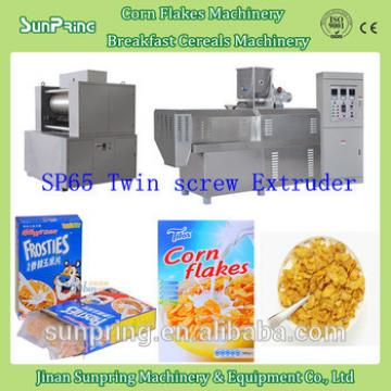 2015 Hot sale breakfast cereal making machines, Normal corn flakes and Frosted corn flakes extruder with good quality