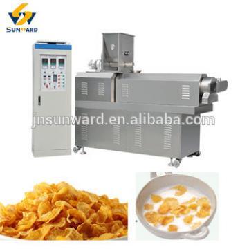 corn flake production line breakfast cereal making machine