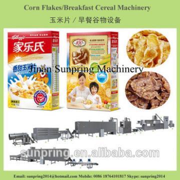 Chinese Kellogg's Corn Flakes Making Machines