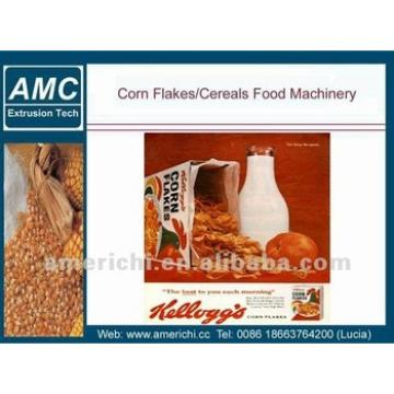 Completely auto corn flake running machine/ production process