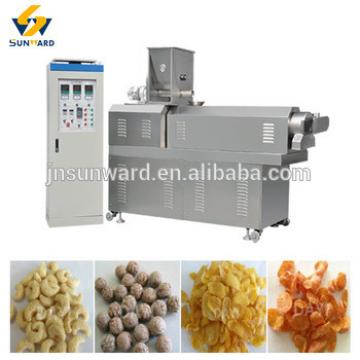 Automatic Cereal Breakfast corn flake snacks manufacture plant