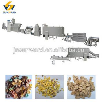 Automatic nutritional breakfast corn flake production line,plant on hot sale