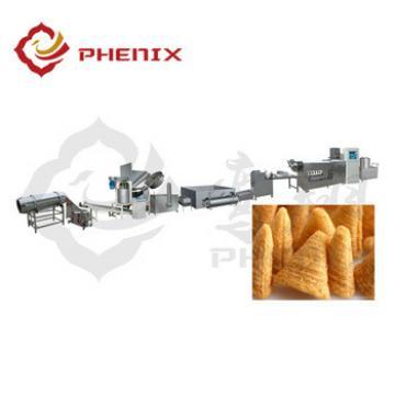automatic frying bugle snacks food making machine