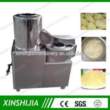 Automatic 200kg/h fresh potato chips making machine