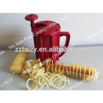 Mini Fridge Hand Spiral Twister Tornado Potato Chips Cutting Making Machines