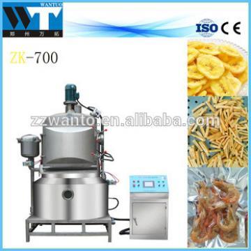 Vacuum frying potato chips making machine price