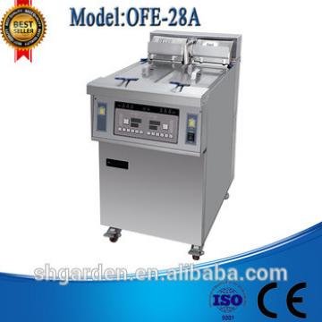 OFE-28A used commercial kfc chicken frying potato chips making machine price