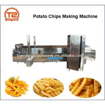 Potato chips frying machine and Potato chips making machine