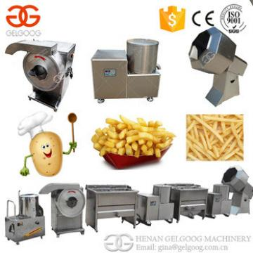 High Quality French Fries Production Line Fresh Potato Chips Making Machine Price For Factory