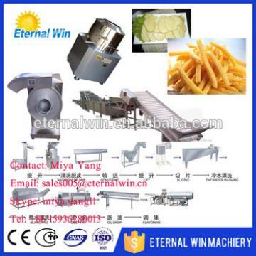Automatic Potato chips processing machine frozen french fries processing machine