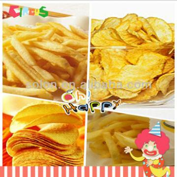 automatic potato chips snacks machine/potato chips production line/potato chips making machine