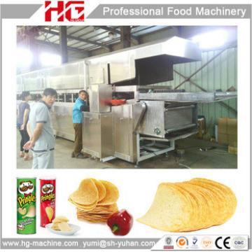 Fully Automatic Industrial Pringles Potato Chips Making Machine Using Potato Starch