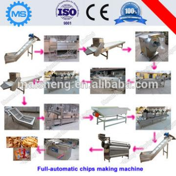 High efficiency beef flavor potato chips production line machines