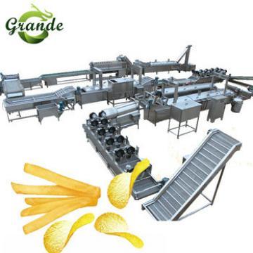 Full Automatic Baked Potato Chips Machine/Potato Chips Making Machine