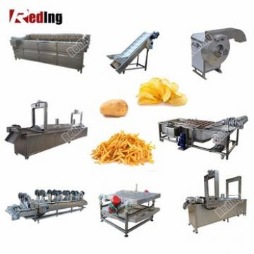 Factory Price Spiral Crisp Potato Chips Production Line Forzen French Fries Making Machine for Saleps Making Machine