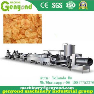 2017 New design Automtatic Potato Chips Making Machine for sale with low price