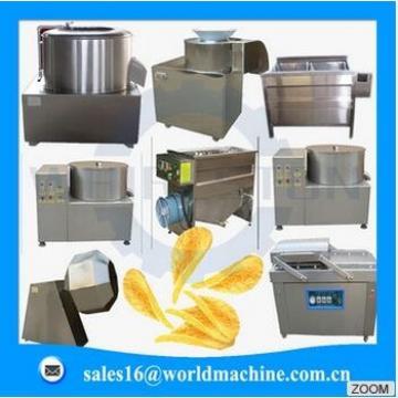 Industrial capacity Potato chips making machine