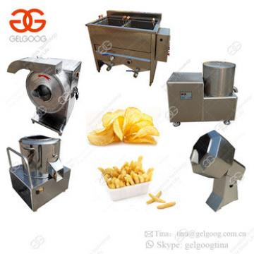 Factory Production Line Supply Fresh French Fries Making Equipment Automatic Potato Chips Making Machine Price