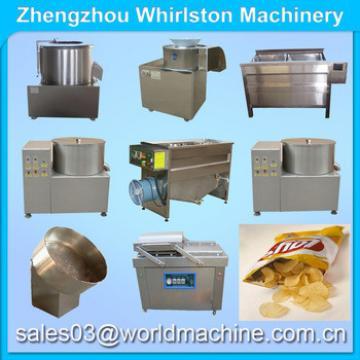 semi automatic fresh potato chips making machine/potatoes fries maker/slice potato frying machine