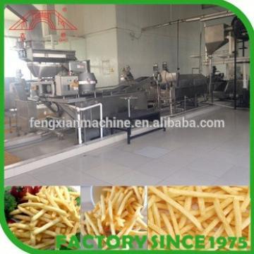 automatic potato fries making machine