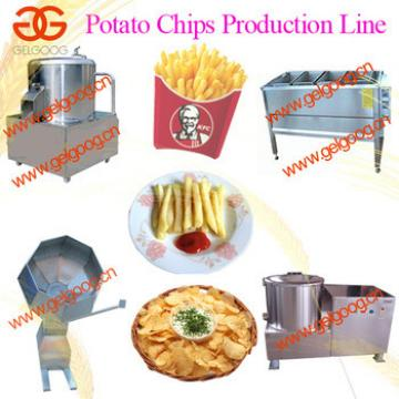 small potato chips machine/ small potato chips production line/ french fries making line