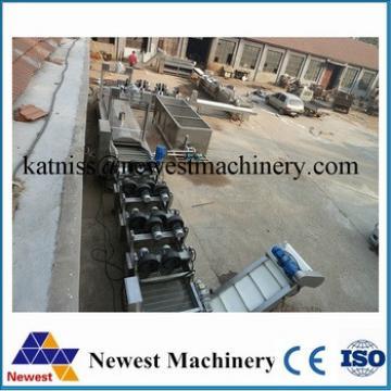 excellent quality full automatic potato chips making machine production line/fresh potato chips making machine