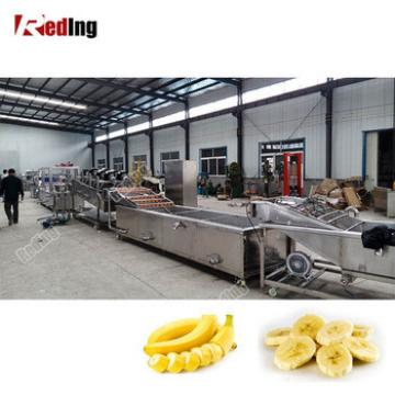 High Quality Crispy Pisang Goreng Machines Indonesian Banana Fritters Recipe Chips Making Machine with low price