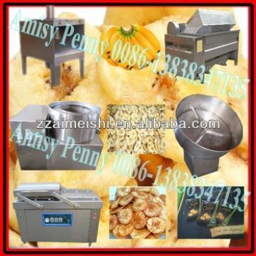 semi-automatic plantain chips making machine/banana plantain chips processing machine/french fries chips machine