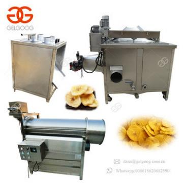 Good Price Potato Crisps Banana Chips Processing Plant Plantain Slices Frites Making Machinery Onion Slicing Machine