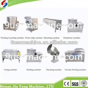 high quality automatic automatic frying potato chips machine