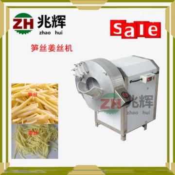 Zhaohui commercial ginger bamboo shoot cutting machine