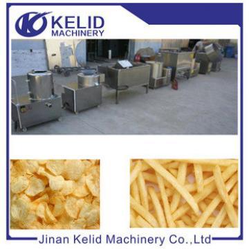 High quality fresh potato chips flakes making machine