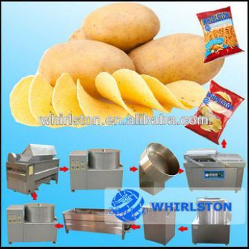 Auto potato chips making machine/french fries stainless steel potato making machine