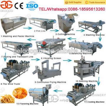 Gelgoog Brand Automatic Potato Chips Making Machine Price