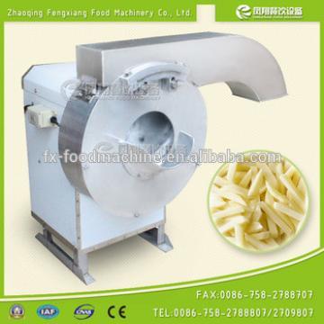 FC-502 stainless steel potato strip cutter, automatic french fry potato chip shredding machine