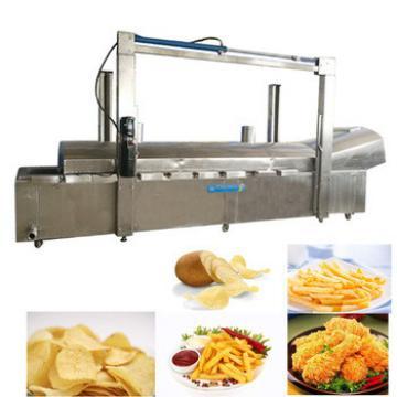 potato chips making machine and chicken frying machine
