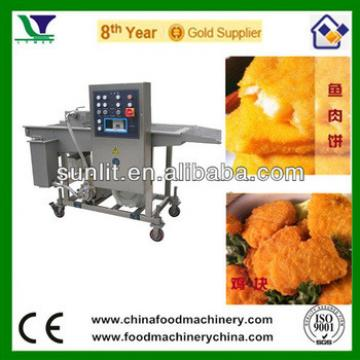 Beef Fish Meat Potato Vegetable Battering & Breading Machine