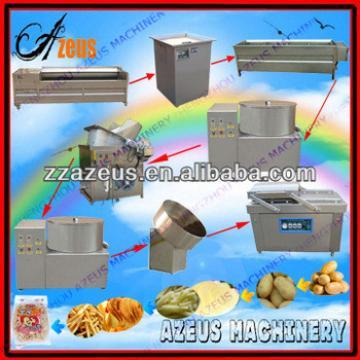 sweet potato chips making machine/fried potato chips making machine/french fries potato chips machine
