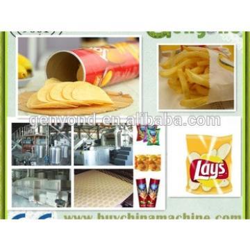 fully automatic potato chip machine/natural potato chips making machine/