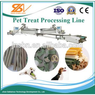 factory supply pet dog chewing food making machine