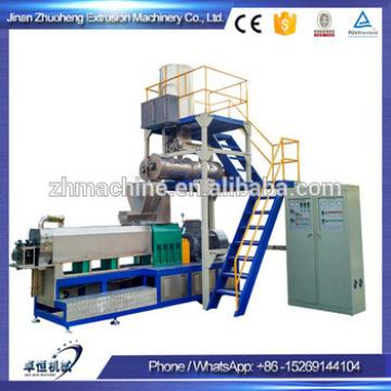 Extruder for producing pet treats dog chews food machines