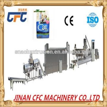 Fully Automatic Single Screw Extruder Machine For pet dog Chewing Gum
