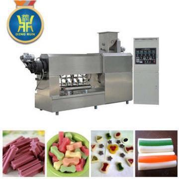 Dog chews and dog treats food machine processing line