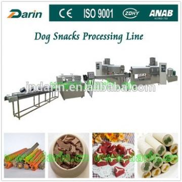 Production line for producing pet food /dog chew snack /pet treats food machines