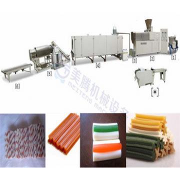 Popular Dog chew food machinery extruder making machine