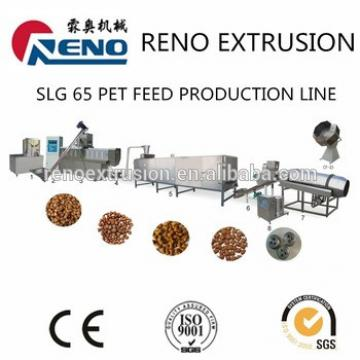 Mini extruder for making pet food