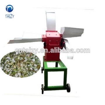 China supply Hot sale 400kg/h electric grass cutting machine/electric animal Chaff Cutter/feed grass chopper