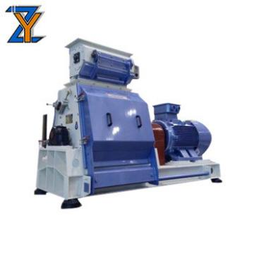 CE approve animal fodder crushing mixing poultry feed processing machinery grain grinder machine