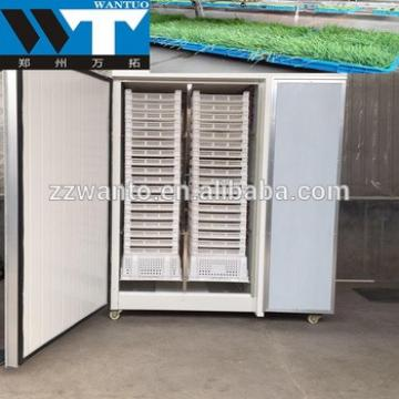 Hitech Green hydroponic trays animal fodder machine